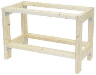 木材(2×4)から組み立てたもの