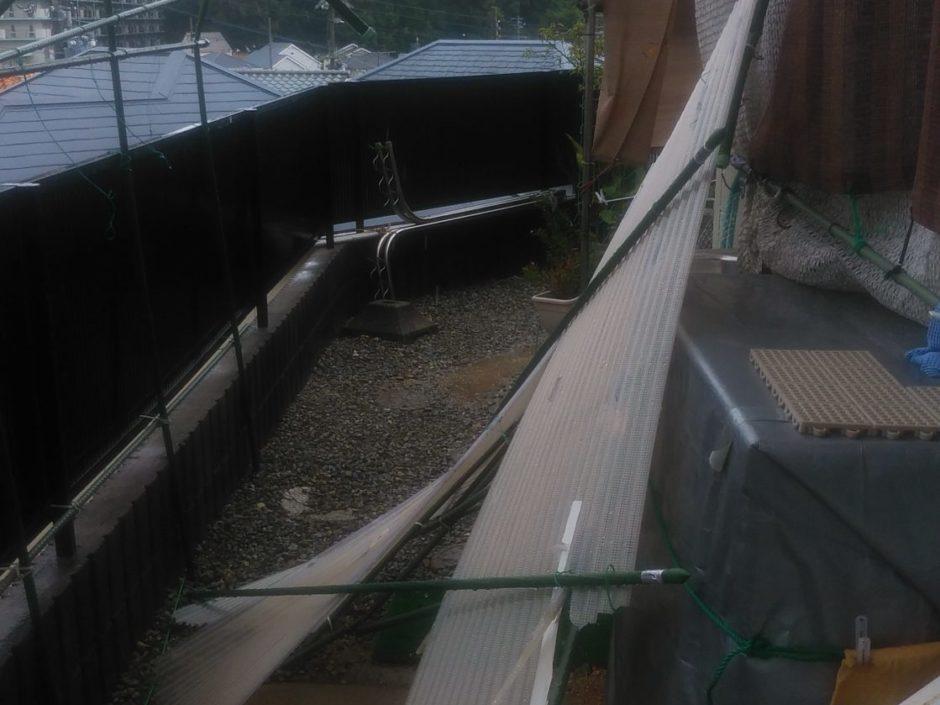 台風被害、復旧状況 その1