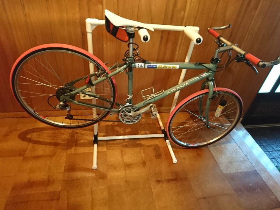 自転車 メンテナンス スタンド その2