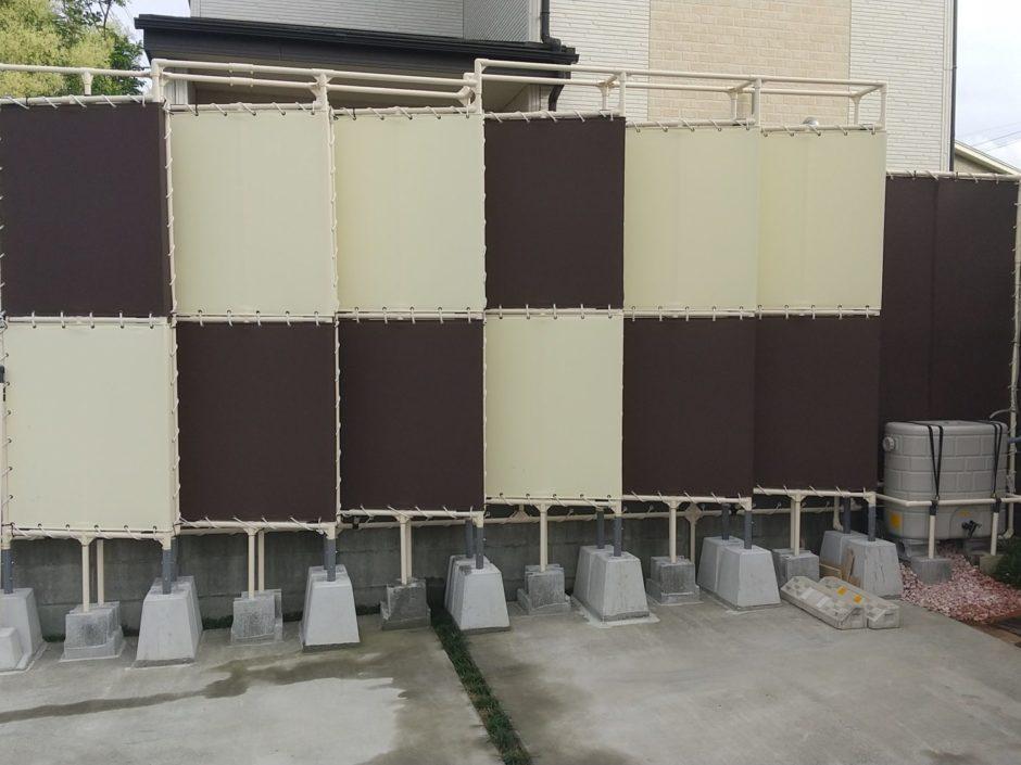 シート張り立体フェンス