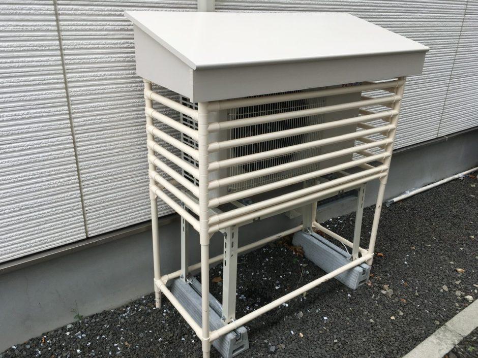 エアコン室外機ガード