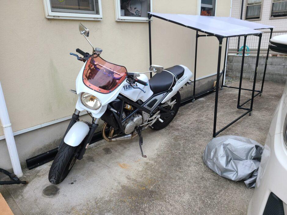可動式バイクストレージ その2